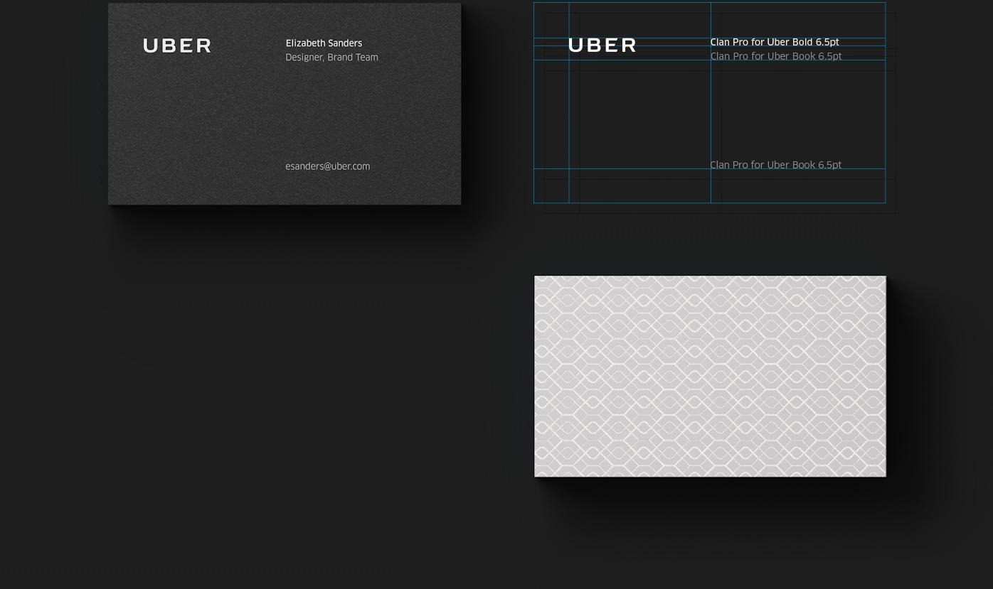 Uber Rebrand: Logotype